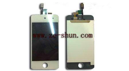 ipod touch 4 LCD+touchpad complete white