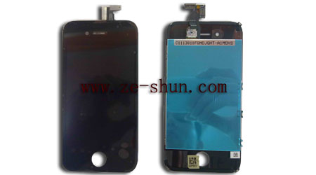iphone 4S LCD&touchpad complete black