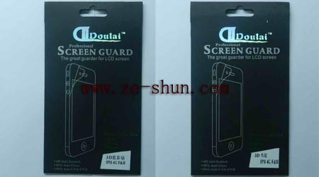 3D Screen Protector for iphone 4