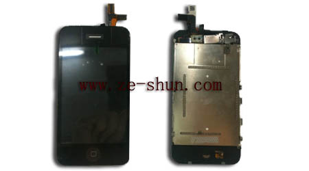 iphone 3Gs LCD+touchpad complete black