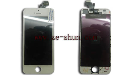 iphone 5 LCD+touchpad complete white