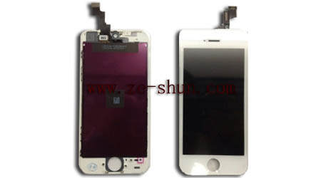iphone 5s LCD+touchpad complete white