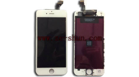 iphone 6 LCD+touchpad complete White